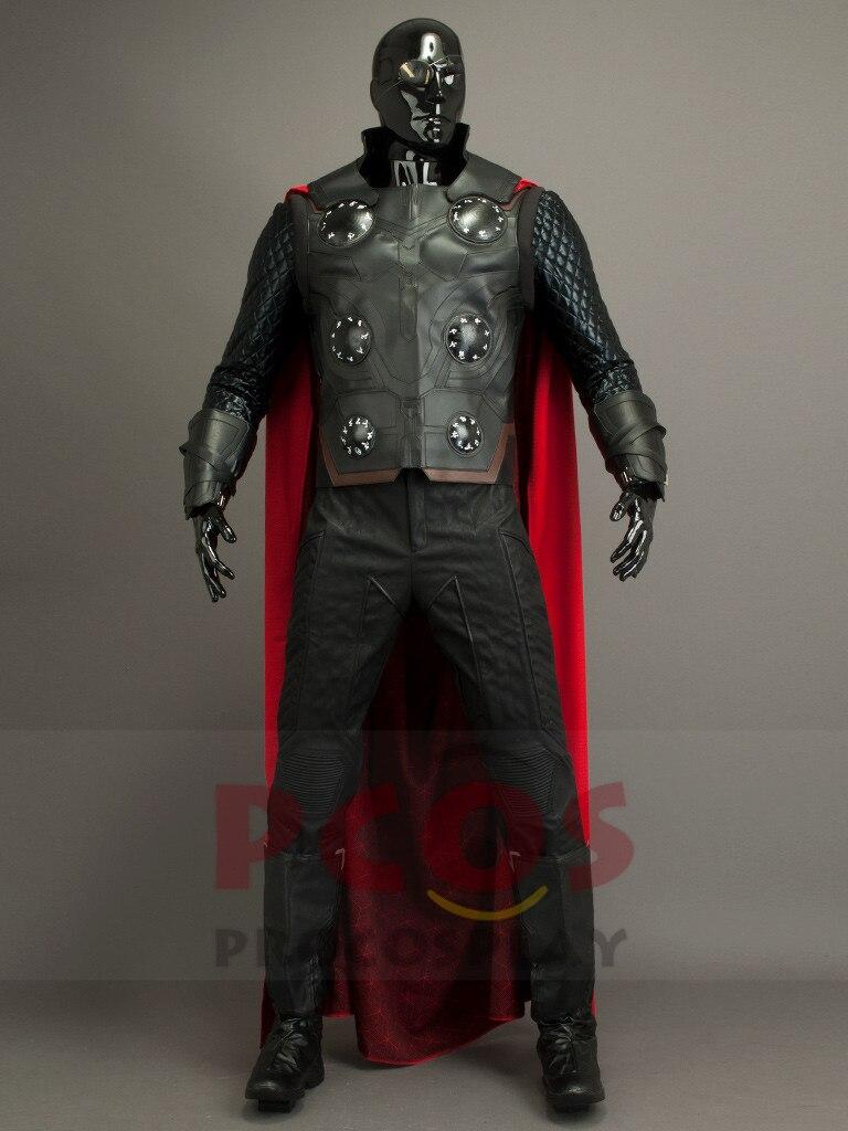 Avengers III : Infinity War Thor Odinson Cosplay Costume God of Thunder Costume & boot mp004044