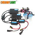 CNSUNNYLIGHT Xenon Hid Conversion kit 55W H1 H3 H7 H8 H11 9005 9006 HB3 HB4 880 Lamp w/ Silm Ballast Blocks for Car Headlight