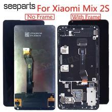 """5.99 """"מקורי LCD עבור XIAOMI Mi לערבב 2s תצוגת מסך מגע Digitizer עצרת עם מסגרת עבור לערבב 2S LCD החלפת מסך"""