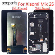 """5.99 """"oryginalny lcd dla XIAOMI Mi Mix 2s wyświetlacz montaż digitizera ekranu dotykowego z ramą dla Mix 2S wymiana ekranu lcd"""