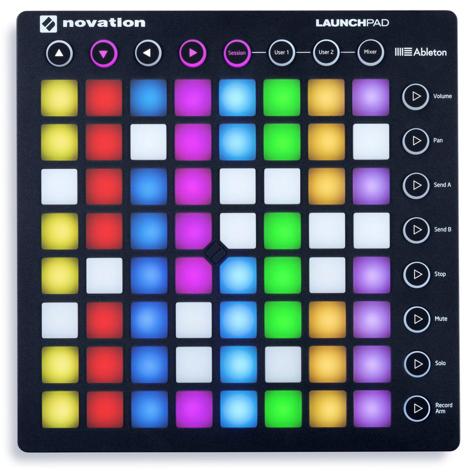 Novation Launchpad RGB MIDI keyboard controller percussion pads 64 RGB hit pad USB DJ stage music