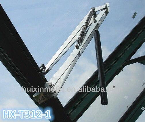 Бесплатная доставка Горячая Распродажа контроль температуры Автоматическая теплица поворотная ручка окна с двойной пружиной HX-T312-1