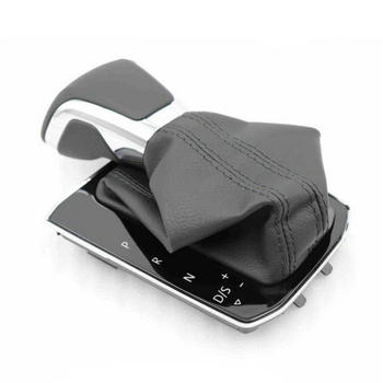 Applicable to the  Tiguan L shift boot leather  gear handball bellows shift panel ball head 5NG 713 203  5NG713203