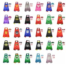 Superman cape (1cloak +1mask)superhero cape Star Wars role-playing children's clothing For Kids Halloween Party Costumes Cosplay kids cosplay star wars the force awakens imperial stormtrooper role playing costumes uniforms performance performance clothing