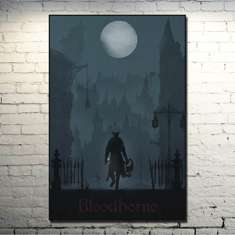 Hollow Knight Map Of Hallownest Art Silk poster 24x36 24x43