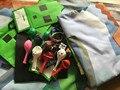 Minecraft Party Supplies (28 Popcorn bags + +28 wristband +88 balloon +8 gift bag+8 Rubik's Cube +1 bedding ) Kids Supplies