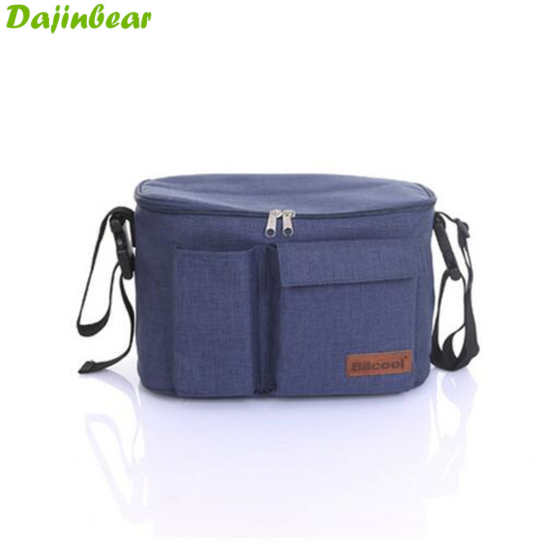 New Updated high quality Mother Expanded Bag Strollers Organizer Baby Basket Pushchair Diaper Nappies Bottle Bag