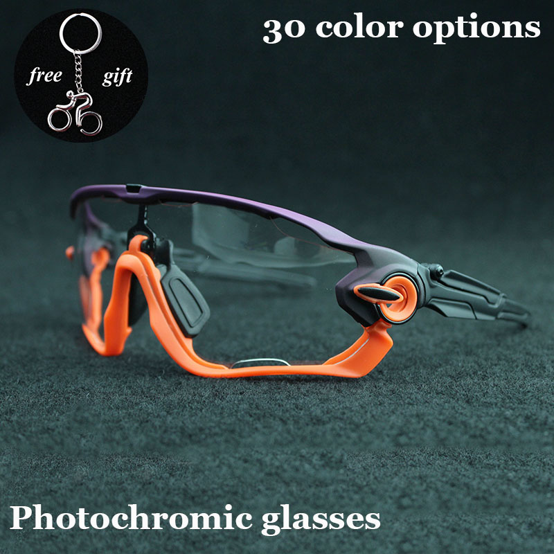 Fast Photochromic UV400 Cycling Eyewear Sunglasses Sports Bicycle Glasses Bike Eyewear Driving Goggles Oculos Ciclismo цена 2017