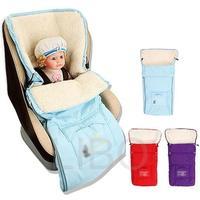 Sacos de dormir do bebê do inverno para carrinho de criança cesta infantil pushchair footmuff saco quente fleabag grosso multifuncional