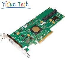 Liquidation-3042E-R 4-port SAS/SATA PCI-E X8 HBA RAID 0, 1/LP seulement-D'origine, 3ans Garantie