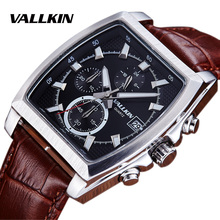 Top Brand Luxury Man Military Sport Luminous Wristwatch Chronograph Leather Quartz Watch Relogio Masculino Complete Calendar