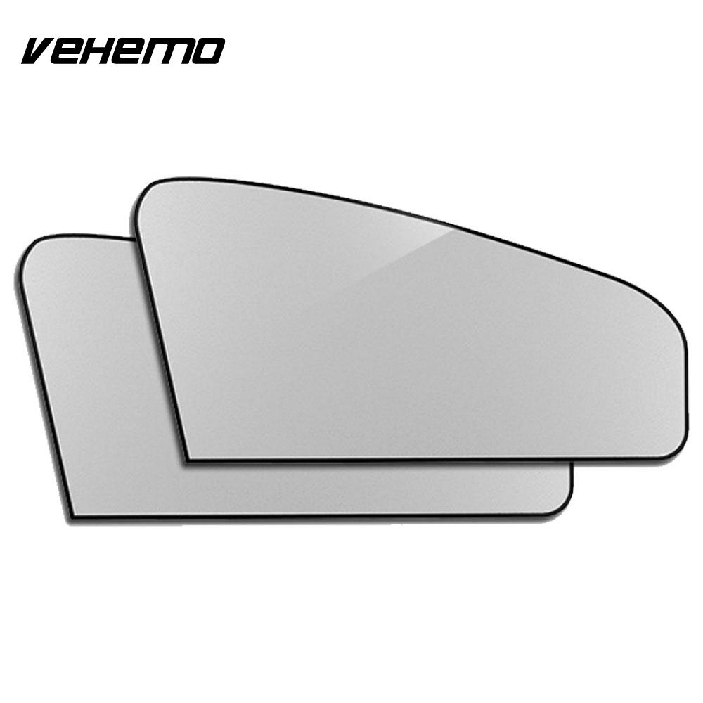 Vehemo 2pcs Car SunShade Windshield Sunshade Car Ac