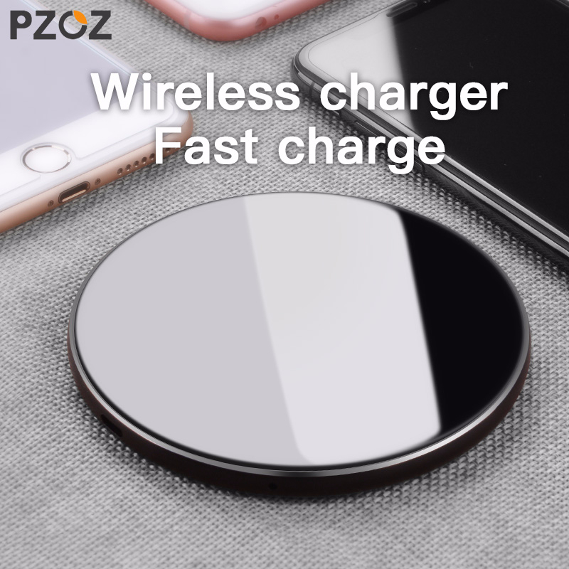 PZOZ Qi Wireless charger USB Charger Fast Charging Phone Adapter for iphone X 8 Plus Xs Samsung S9 S8 note 9 8 xiaomi mi mix 2sPZOZ Qi Wireless charger USB Charger Fast Charging Phone Adapter for iphone X 8 Plus Xs Samsung S9 S8 note 9 8 xiaomi mi mix 2s