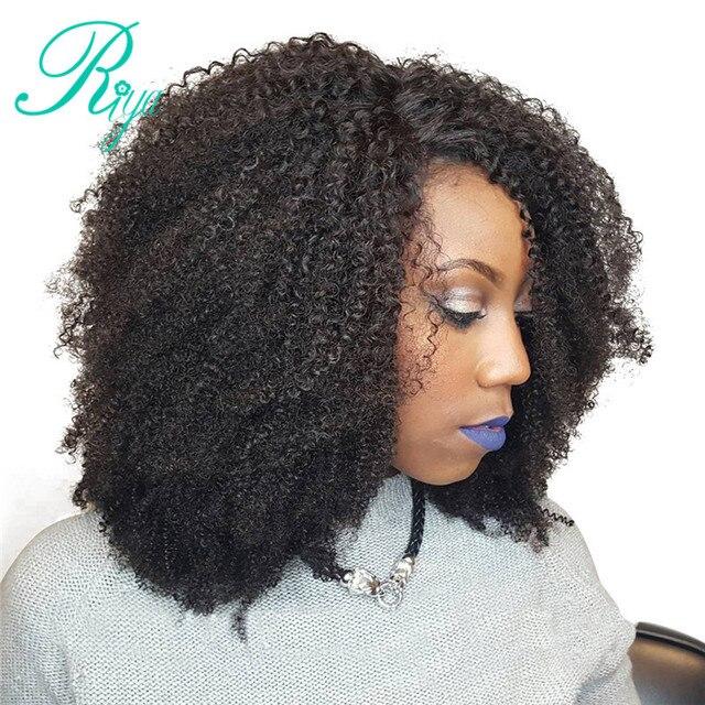 Riya Hair Brazilian Human Hair Afro Kinky Curly Clip In Hair