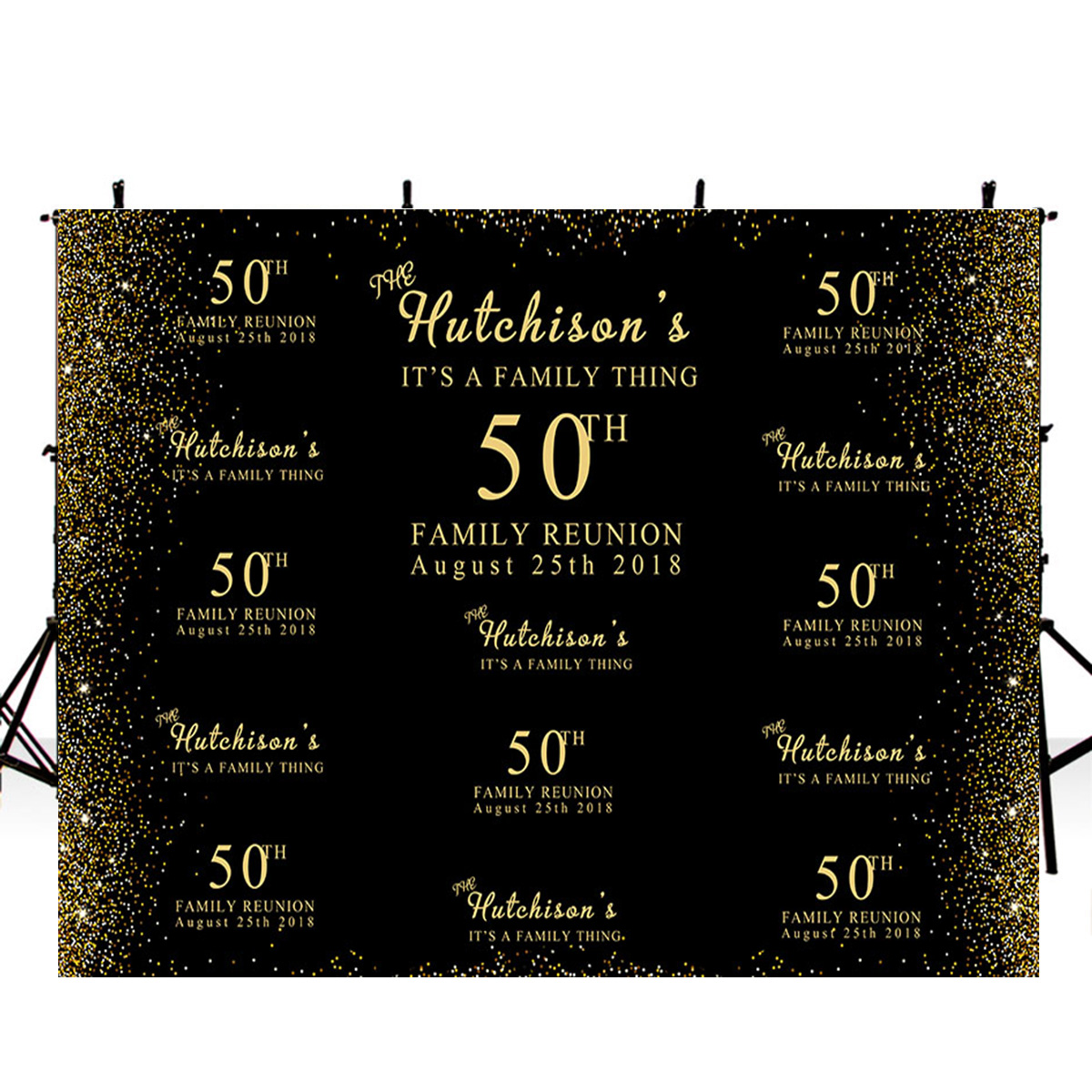 <font><b>Happy</b></font> <font><b>birthday</b></font> <font><b>50th</b></font> photo <font><b>backdrops</b></font> banner photo booth props <font><b>50th</b></font> <font><b>birthday</b></font> photo <font><b>backdrop</b></font> black and gold background for picture image