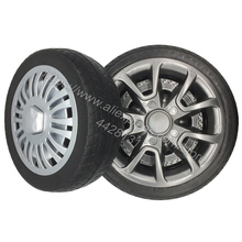 No need to inflate soft tires for childrens electric car, Shock absorption wheels, childrens electric vehicle foam tires