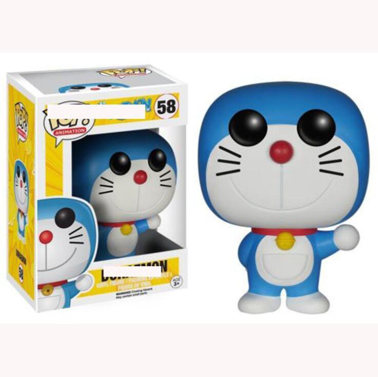 FUNKO POP Anime Cartoon Doraemon Collection Model Toys Vinyl Doll Movie Action Kids Birthday Present