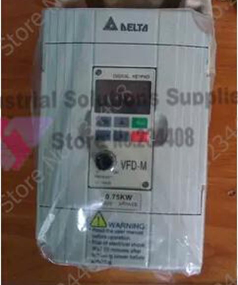 New Original Delta Inverter VFD007M43B-A 1HP 3 phase 380V 750W invt inverter gd10 1r5g 4 b goodrive10 series 3 phase 380v 440v 1 5kw 1500w 50hz 60hz new