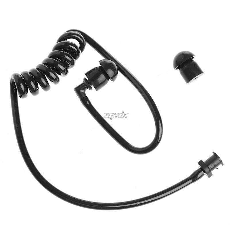 Bobina negra de repuesto de tubo de aire acústico auriculares para auriculares de Radio venta al por mayor y envío directo