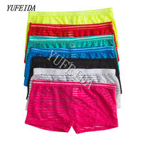 7PCS/LOT Sexy Man Short Boxers Underwear Nylon Underpants Fashion Design Male Men Comfortable Transparent Panties Shorts Boxers