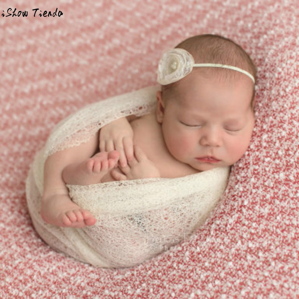 Baby Accessories Newborn Infant Hollow Out Wraps Blanket Photography Props Posing Swaddle Cover Prop