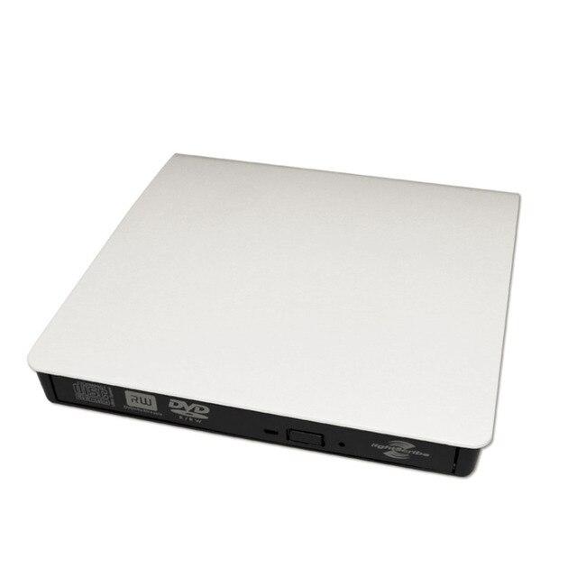 USB3.0 externo Desenho DVD +/-R 8X/4X DVD-RW/CD-R 24X/Burner Escritor Lido POP-UP Disco Rígido Externo móvel
