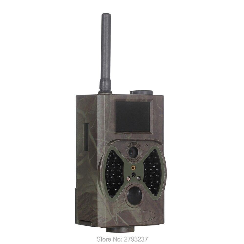 Scouting hunting camera HC300M HD GPRS MMS Digital 940NM Infrared Trail Camera GSM 2.0' LCD Hunter Cam hc300m scouting hunting camera gprs mms digital 940nm black infrared trail camera solar panel battery