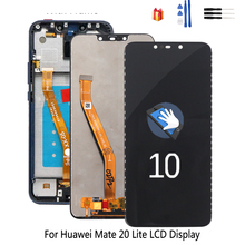 Original For Huawei Mate 20 Lite LCD Display Touch Screen with Frame Phone Parts For Huawei Mate 20 Lite  LCD Display Screen original tested lcd for huawei p9 lite display touch screen with frame for huawei p9 lite 2016 lcd display vns l31 l21 l19