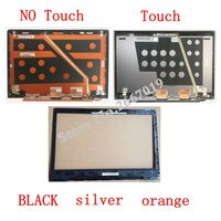 Laptop LCD Top Cover LCD Bezel Back Cover For Lenovo U330 U330T 3CLZ5LCLV30 Silver Back Cover