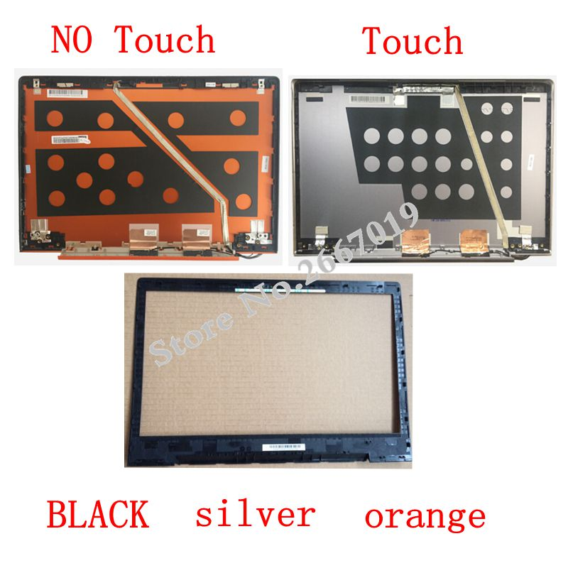 Laptop LCD Top Cover/LCD bezel back cover For Lenovo U330 U330T 3CLZ5LCLV30 silver Back Cover with Touch /NO Touch new original for lenovo ideapad u330p u330 u330t no touch lcd rear lid back cover grey lz5 90203126 3clz5lclv00