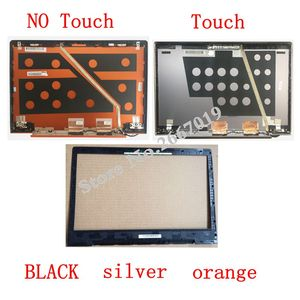 Laptop LCD Top Cover/LCD bezel back cover For Lenovo U330 U330T 3CLZ5LCLV30 silver Back Cover with Touch /NO Touch(China)