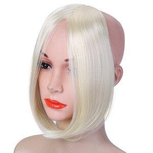 Длинные волосы SHANGKE на клипсе спереди, накладные синтетические волосы с кисточками по бокам