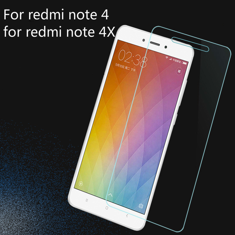2.5D Celular Glass FIlm For Xiaomi Redmi 4 4x 4a Tempered Glass Screen Protector For Xiomi Redmi Note4 4x Protect On Cell Glass
