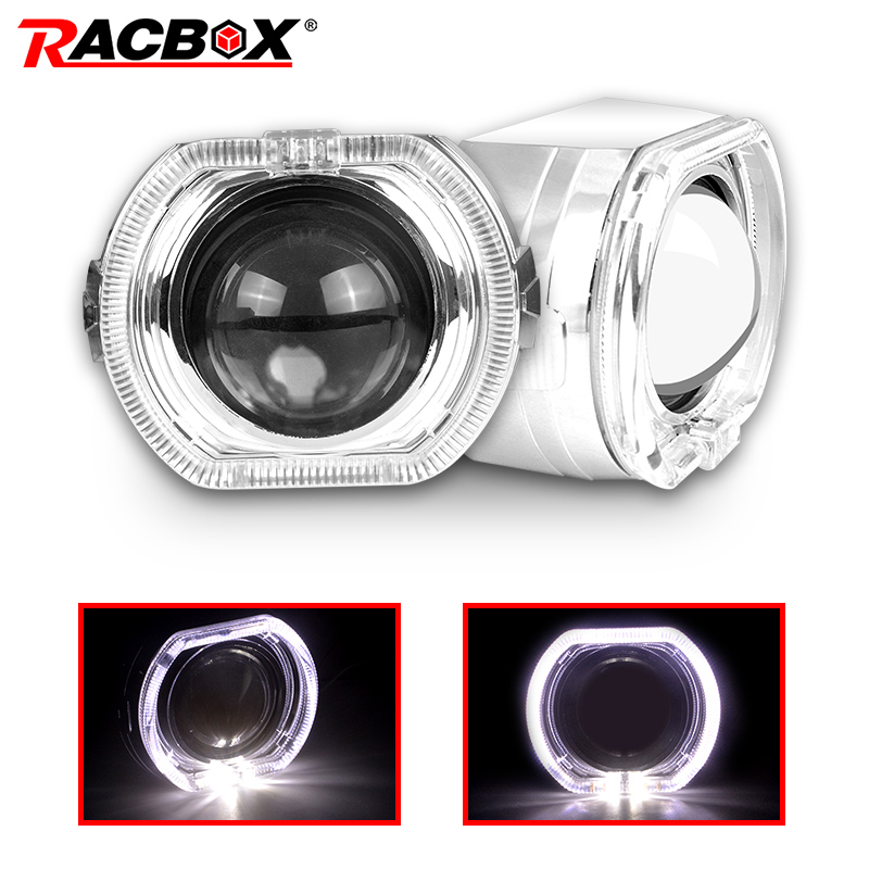 3 Inch Bi-xenon Projectors Lens With Shrouds For H4 H7 Car Headlight left  drive