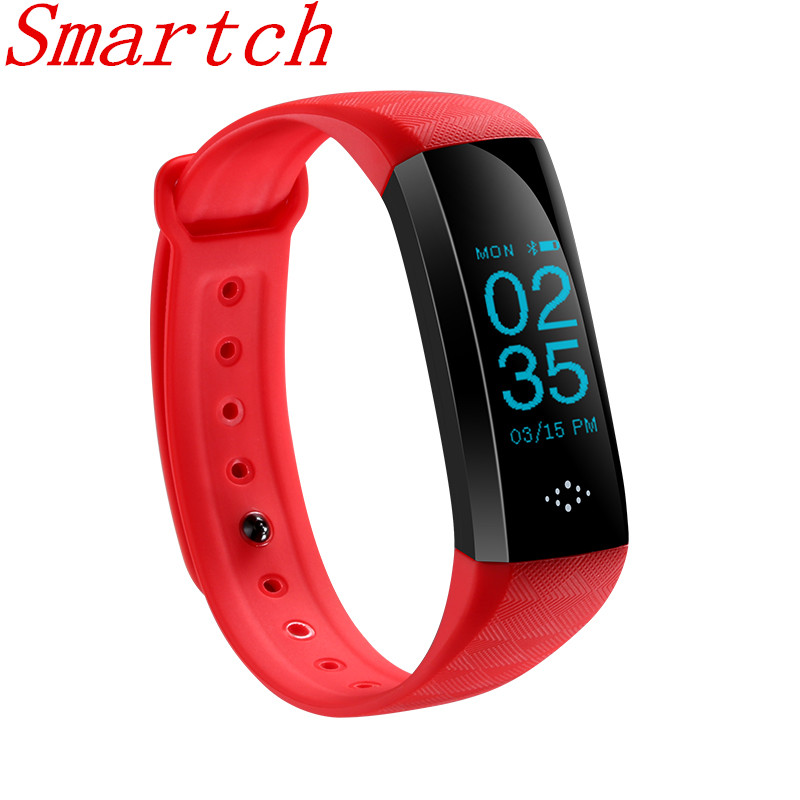 Smartch Smart Bracelet M2S Blood Pressure Fitness Tracker Heart Rate Sleep Monitor Pedometer Message Notification for