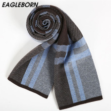 Newest fashion design casual scarves winter Mens cashmere Scarf luxury