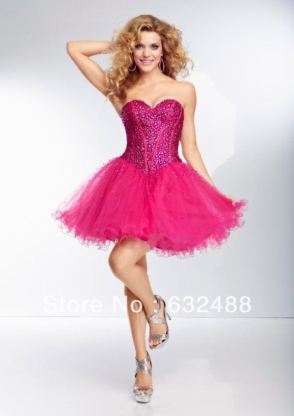 Encantador Vestido Rosado Del Baile De Neón Ilustración - Ideas de ...