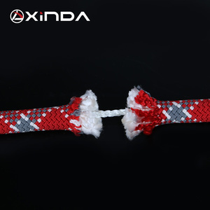 Image 5 - XINDA Camping Rock Climbing Rope 9mm Static Rope 21kN High Strength Safety Rope For Working at Height Climbing Equipment