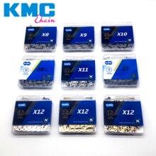 KMC Bicycle Chain Full Range X8 X9 X10 X11 X12 X10L X11L X8EPT X9EPT X10EPT 11EPT X10EL X11EL X10SL With Original box
