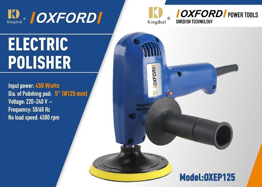 цена на GV5000 electric polisher 450w self-lock function  car polish machine 230v 50hz 4500rpm 125mm*M10