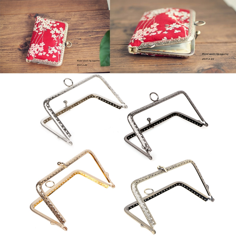 Kiss Clasp Lock Frame 13*8cm By Wholesale DIY Purse Handbag Handle Coins Bags Metal ...