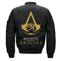 Kış Kalın Kapitone Pilot Ceket Assassins Creed Ceket Bombacı Siyah Lacivert Bordo Kırmızı Zeytin Asassins Assasins Origins