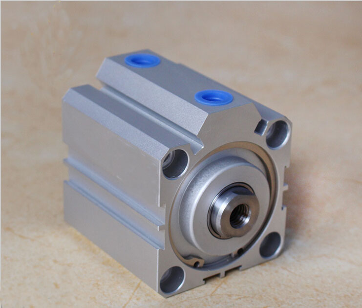 Bore size 80mm*30mm stroke double action with magnet SDA series pneumatic cylinder 80mm x 30mm aluminium flat rectangular bar 80 30mm width 80mm thickness 30mm 6061 t6