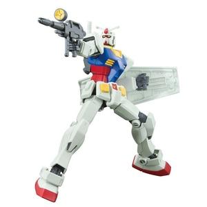 Image 5 - Bandai Gundam 96716 HGUC 191 1/144 RX 78 2 Mobile Suit assemblare kit modello Action Figures modello in plastica