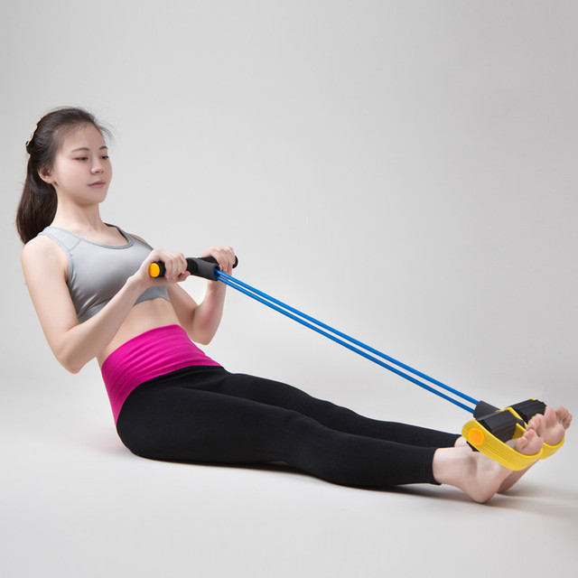 Women pedal exerciser elastic resistance band body building indoor women pedal exerciser elastic resistance band body building indoor crossfit equipment home lose weight workout rubber ccuart Image collections