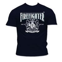 Rescue Point Firefighter Fireman men's short sleeve T Shirt KF6