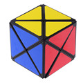 MF8 Konglong Dinosaur 6-Color 57mm Intelligence Test Dino Skew Magic Cube Speed Puzzle Cubes Educational Toys For Kids - Black