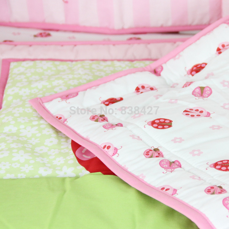 Baby Bedding Bedding Sets Ups Free New 3 Pcs Beatles Baby Cot Set Bedding Crib For Baby Sheets Comforter Quilt Sheet Bumper The Latest Fashion
