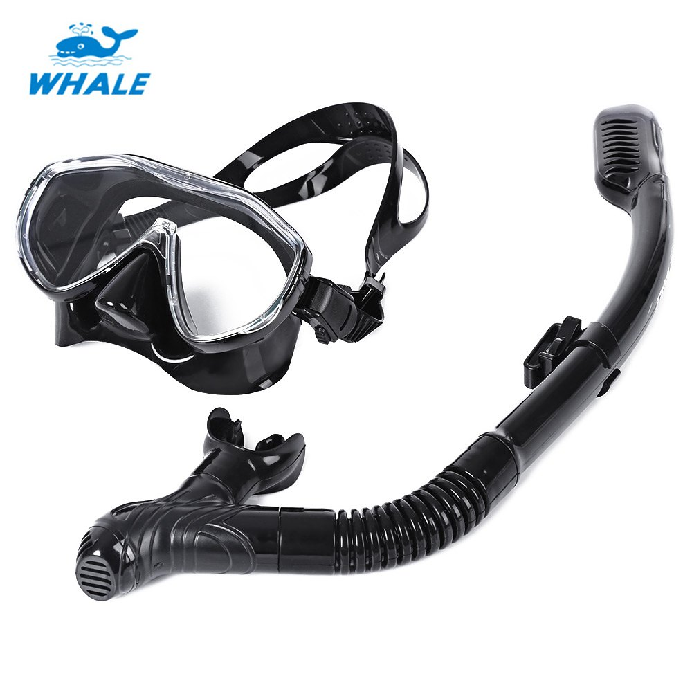 WHALE Scuba Diving Silicone Mask font b Snorkel b font Durable Safe Professional Wear Resistant Diving