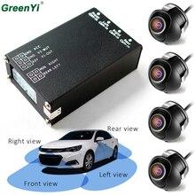 4 шт камера заднего вида s 360 вид автомобиля камера управления коробка 4 способа камеры s переключатель системы для заднего левого правого размера фронтальная камера